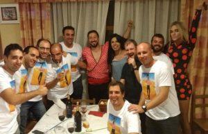 cena espectáculo Pamplona